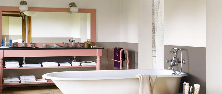 Peinture salle de bain : 25 couleurs pour relooker la salle ...